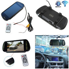 "7"" 16:9 HD USB Bluetooth MP5 FM SD TFT LCD Color Screen Car Rear View Monitor"