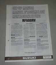 Montageanleitung / Set Up Manual Suzuki RF 600R Stand 07/1996