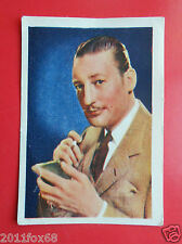 actors acteurs figurine card nestle stars of the silver screen 48 warren william