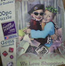 PUZZLE..JIGSAW....GOODWIN...Friends Forever..We Love Shopping....300....Sealed..