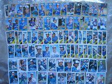 BLUE JAYS 4 TOPPS TEAM SETS LOT 117 Different BASEBALL CARDS 1987 1988 1989 1990