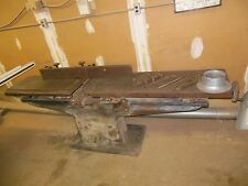 "Sidney Famous Woodworking Machinery 12"" Long Bed Jointer Project"