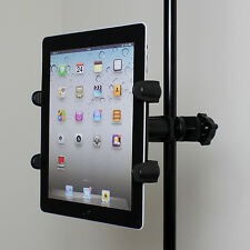 Microphone Stand Teleprompter Mount Tablet Holder for Apple iPad 1 2 3 4 Air