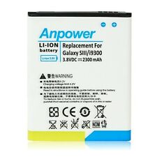 New 2300mAh Li-ion Battery Backup Replacement For Samsung Galaxy S3 S III i9300