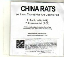 (DS35) China Rats, (At Least Those) Kids Are Getting Fed - 2012 DJ CD