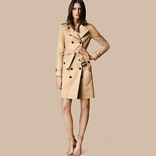 Burberry Sandringham Long Heritage Trench Coat Honey Color