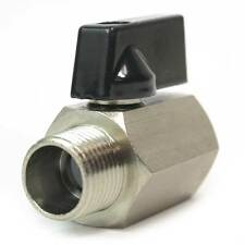 """Brass Ball Valve W/Lever 3/8"""" FPT x 3/8"""" MPT - VB660"""