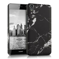 HARD COVER MARBLE FOR HUAWEI Y6 BLACK CASE BACK SHELL BUMPER MOBILE PHONE