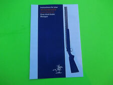 WINCHESTER Instructions X-pert Model 96 Over-And-Under Shotgun, fold out design