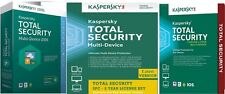 Kaspersky TOTAL SECURITY, 3 Device 2 Year Multi-Device Windows Mac Android PC