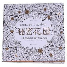 Secret Garden An Inky Treasure Hunt Coloring Book For Children Kid Adult