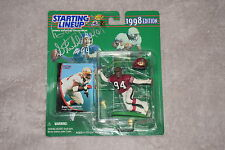SAN FRANCISCO 49ERS DANA STUBBLEFIELD SIGNED STARTING LINEUP TOY FIGURE COA
