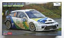 HASEGAWA #20263 1/24 Ford Focus RS WRC 2004 Rally Deutschland limited model kit