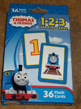 Thomas and Friends 1-2-3 Learning Cards Counting Numbers New