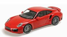 MINICHAMPS 2013 Porsche 911 (991) Turbo S Coupe RED/YELLOW DISC 1:18*New Item!