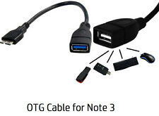 OTG CABLE MICRO USB 3.0 9 PIN HOST CABLE FOR SAMSUNG GALAXY NOTE3 S5 ALPHA N9005