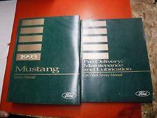 1993 FORD MUSTANG GT COBRA CONVERTIBLE FACTORY SERVICE MANUAL WORKSHOP REPAIR