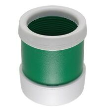 LuckiCup Professional Air Cushioned Green & White Dice Cup – Quietest Dice Cup
