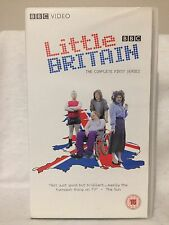 LITTLE BRITAIN ~ THE COMPLETE FIRST SERIES ONE 1 ~ 225 MINUTES ~AS NEW VHS VIDEO