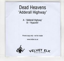 (GM760) Dead Heavens, Adderall Highway - DJ CD