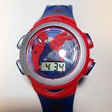 Marvel Spiderman Watch LCD Comics Superhero NWT