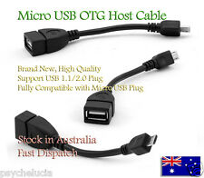 OTG Host Cable Micro USB for SAMSUNG Galaxy Nexus Sony HTC Tablet Android Phone