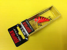 Rapala Mini Fat Rap MFR-3 OCW, Orange Tiger Color Lure, NIB.