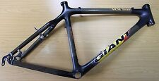 Giant MCM Team Mountain Bike Frame Retro Carbon Fibre MTB 3.49lb Inc H/S & Clamp