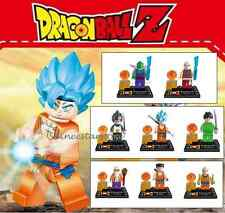 DLP9007 8 Pcs Dragon Ball Z Minifigures Son Goku Lego-Building Block Toy