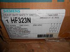 SIEMENS HF323N DISCONNECT 100 AMP 240 VOLT SAFETY SWITCH