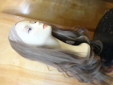 """Malky European 26"""" Band Fall Wig Light Brown Highlits 14/8"""
