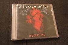 Closterkeller - Scarlet CD NEW SEALED