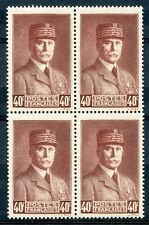 STAMP / TIMBRE FRANCE NEUF N° 470 ** BLOC DE 4 / PETAIN