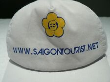 Saigon tourist  hat white