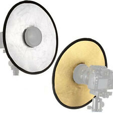 30cm 2 in 1 Collapsible Light Round Photography Hollow Reflector for Studio