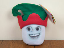 Annoying Orange Marshmallow Talking Christmas Holiday Stuffed Plush Doll **NEW**