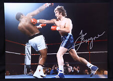 New Joe Bugner Vs Muhammad Ali Rare Signed 12x16  Boxing Photograph