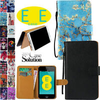 Brand New Flip Wallet Leather Case Cover Card Slot for EE Harrier mobile phone