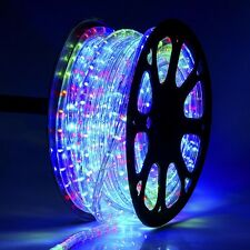 DELight™ 150' RGB 2 Wire LED Rope Light Home Party Xmas In/Outdoor Decoration