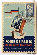 CPA MAXIMUM FOIRE DE PARIS 1947  Yt771 266CA09
