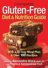 Complete Gluten-Free Diet and Nutrition  Guide: With 30-Day Meal Plan -ExLibrary