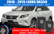 PREMIUM Lexus RX350 Remote Start Complete Kit 2010 - 2015 Easy Install!