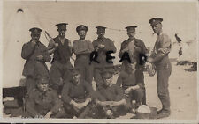 WW1 soldier group Base APO Z MEF RE Royal Engineers March 1916 Will Goldsmith