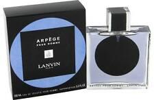Arpege Pour Homme Lanvin 100ml 3.3oz EDT Spray for Men Sealed Box Rare Perfume