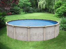 "27' x 52"" Above Ground Pool Package   Limited Lifetime Warranty   Costa Del Sol"