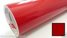 Red Clear Transparent Vinyl Wrap Graphic Decal Sticker Roll Craft & Cut 24""