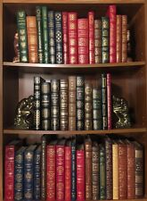 Impressive Leather Library Easton Press 100 Greatest Books Lot of 43 Home Decor