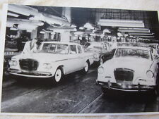 1962 STUDEBAKER ASSEMBLY LINE  LARK  AN HAWK   11 X 17  PHOTO /  PICTURE