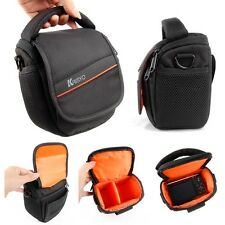 Waterproof Waist Shoulder Camera Carry Case Bag for Fuji FinePix SL310 HS25 EXR