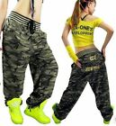 Casual camouflage pants hip-hop pants girl woman relaxed casual / fashion jazz
